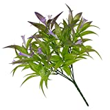 NOBRAND Falso Artificial Flor de la Petunia Ramo de la Flor de la Trompeta del Ministerio del Interior de la decoración Floral de la Boda del Ornamento, púrpura