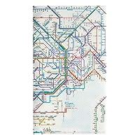鉄道路線図 チケットホルダー 首都圏 日本語 RTHSJ