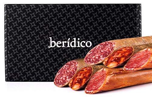 Surtido de Ibéricos. Lomo de Bellota 100% Ibérico + Chorizo Ibérico Extra + Salchichón Ibérico Extra. Extremadura. BER�DICO