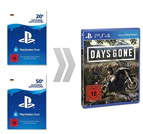 Sony Interactive Entertainment PSN Guthaben-Aufladung für Days Gone Digital Standard Edition | PS4 Download Code - Konto