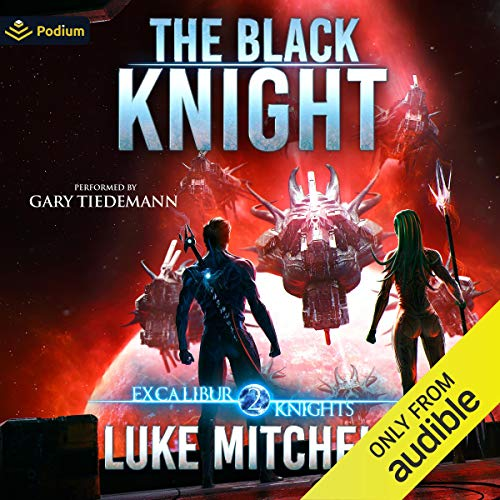 The Black Knight Audiobook By Luke Mitchell cover art