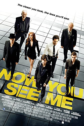 Posters USA - Now You See Me Movie Poster GLOSSY FINISH - MOV404 (24' x 36' (61cm x 91.5cm))