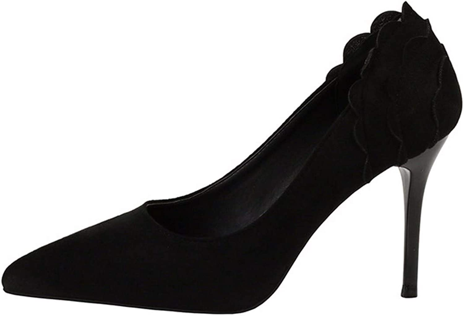 QPGGP-Women's shoes Top European and American Sexy Night Club Wind Lady's Super High-Heeled Single shoes Women's shoes