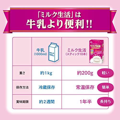 森永乳業『大人のための粉ミルクミルク生活』