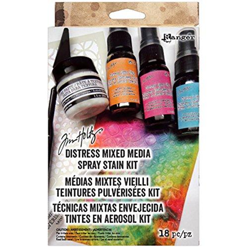Ranger Mixed Media Spray Set, mehrfarbig
