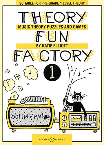 Theory Fun Factory 1: Music Theory Puzzles and Games. Vol. 1.