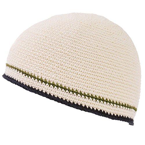 Casualbox Hommes Crâne Chapeau Bonnet Tricoter Élastique Japonais Blanc