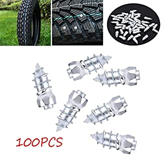 Delaman Anti-Slip Tyre Stud Screw 100pcs 15mm/0.59