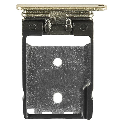 Unbekannt Original HTC SD Kartenhalter Gold für HTC One A9 (SD Tray, Holder)