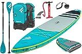 Fanatic Ray Air Premium Touring SUP - Tabla de surf (carbono, 35), azul, 12.6 (381cm)