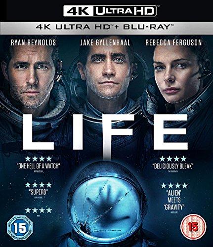 Life (2 disc BD & 4K UHD) [Blu-ray] [2017] [Region Free]