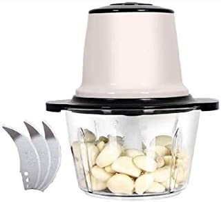 Meat Grinder-Electric Stainless Steel Food Bowl Chopper,Stable Non-Slip Efficient Save Time Labor Saving, Easy Clean,Colou...