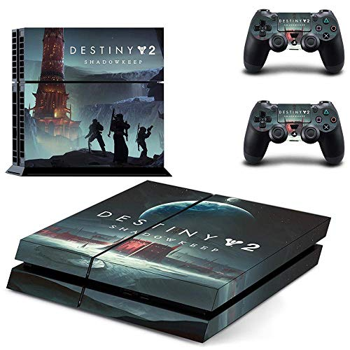TSWEET Destiny 2 Ps4 Skin Sticker for Dualshock 4 Playstation 4 Console and Controllers Ps4 Skin Sticker Decal Vinyl