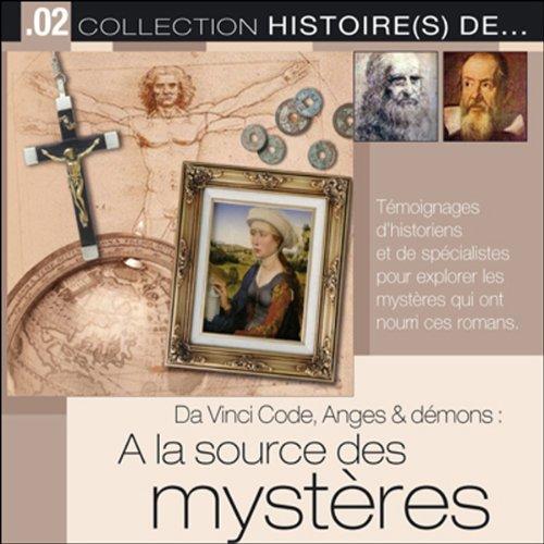 Couverture de Da Vinci Code, Anges & Démons. À la source des mystères