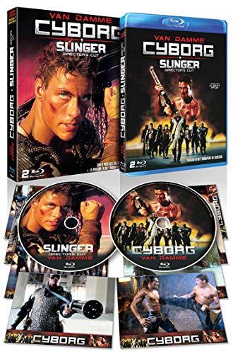 Cyborg + Slinger (Cyborg Director´s Cut) 2 BDs + Postales + Funda. Edición Limitada y Numerada [Blu-ray]