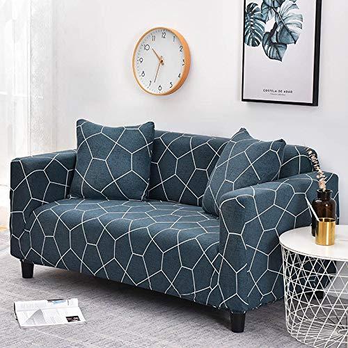 WXQY 24 Colores para Elegir Funda de sofá Asiento elástico Fundas de sofá loveseat sillón funiture Fundas sofá Toalla 1/2/3/4 plazas A21 4 plazas