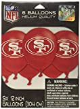 amscan San Francisco 49ers Collection Printed Latex Balloons, Party Decoration,Multi Color,12'