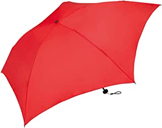 Household Umbrellas Ultralight Mini Folding Umbrellas for Men and Women Green, Red, Yellow HYBKY (Color : Red)