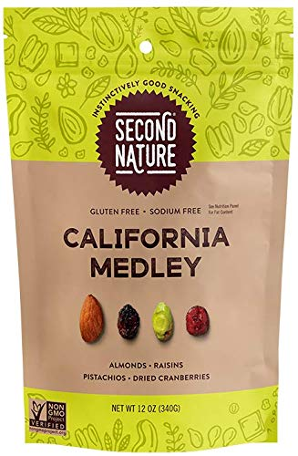 Second Nature California Medley Trail Mix OFFicial site Snack Nut Glu Blend - Albuquerque Mall