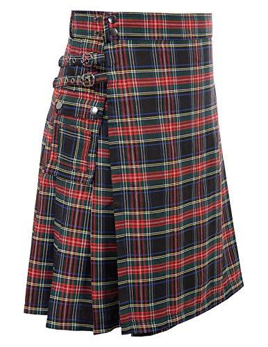 Schottischer Herren-Kilt, traditionelles Highland Tartan - - XX-Large