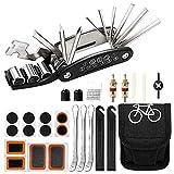 Greymond Bike Tool Kit,16 in 1 Multi-Function Bike Bicycle Repair Tool Kit,Bike Puncture