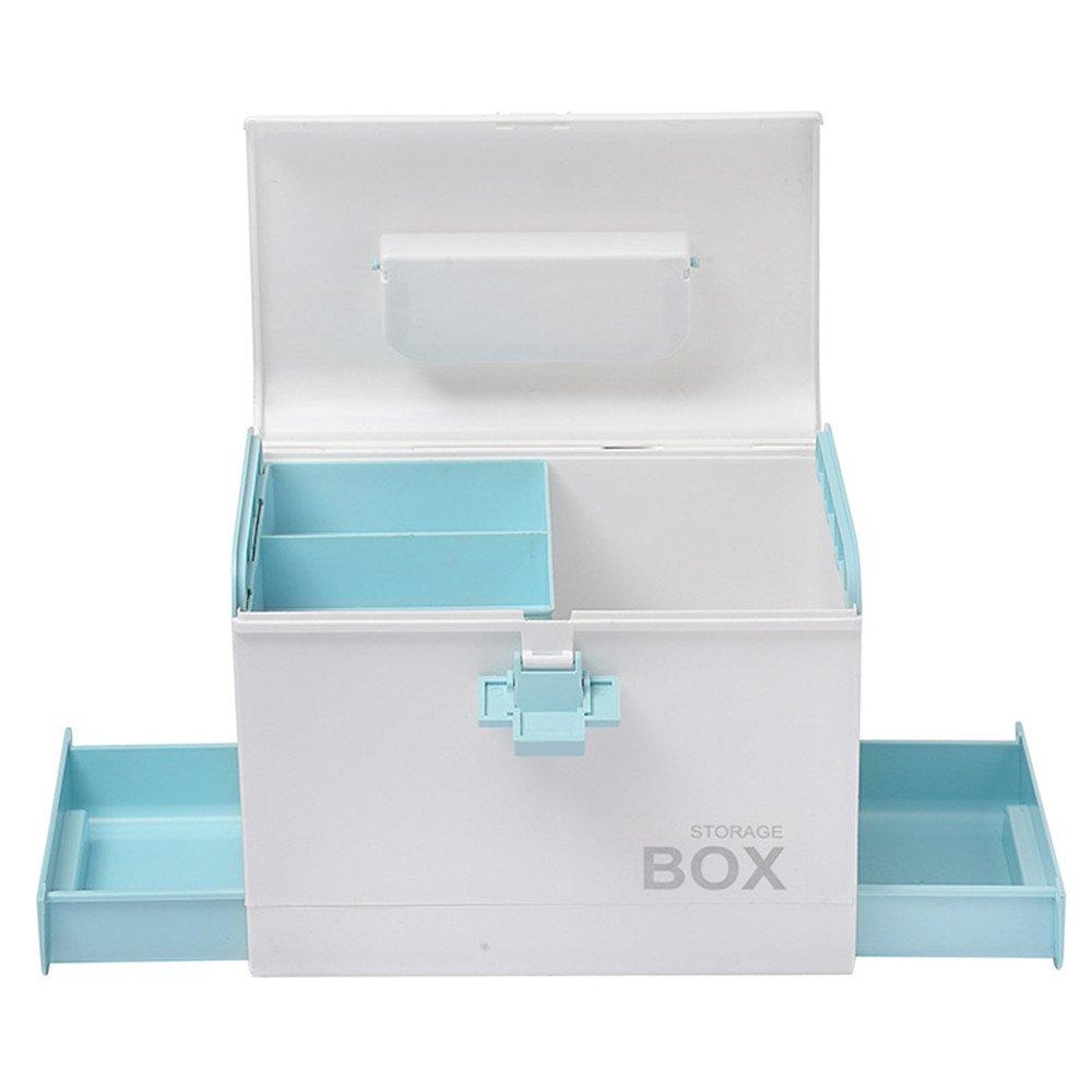 Estuche para medicamentos domésticos, Kit de primeros auxilios vacío Caja de almacenamiento de medicamentos para el hogar Caja de plástico para envases de medicamentos para el hogar Caja de almacenami: Amazon.es: Hogar