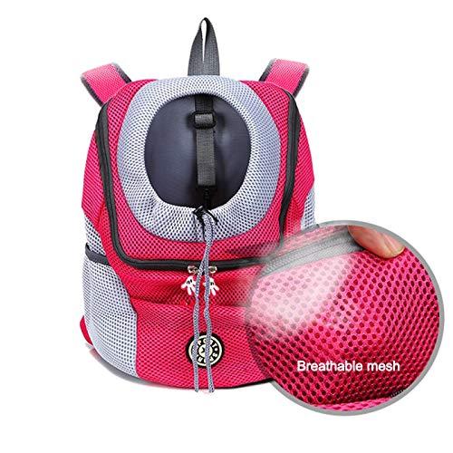 BSQLFYBPYMX Mochila para mascotas para gatos y perros, mochila de viaje para mascotas y gatos