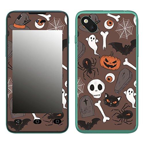 Disagu SF-106598_1210 Design Folie für Wiko Sunset 2 - Motiv Halloweenmuster 02
