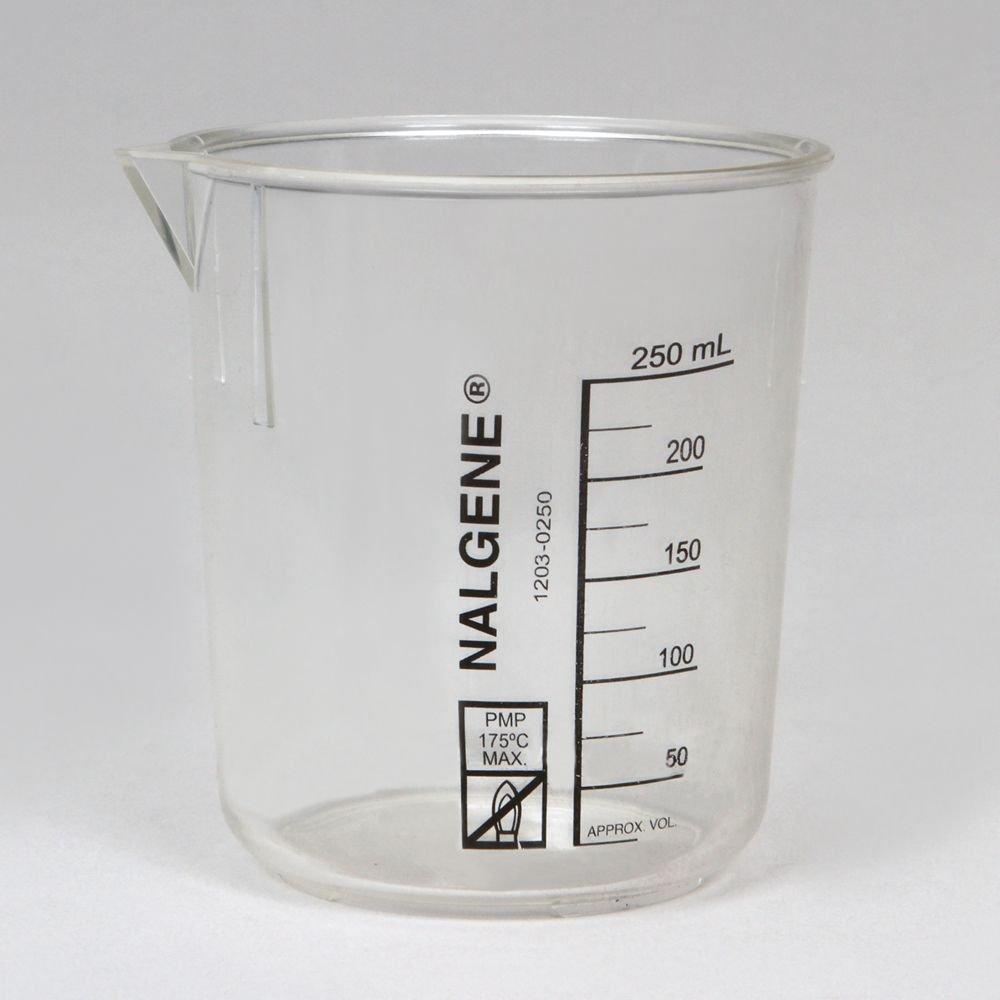 Max 80% OFF Nalgene Griffin Beaker Low Polymethylpentene Ultra-Cheap Deals Form mL 250