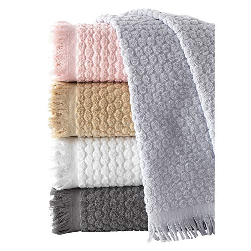 Conjunto de Toalla de algodón de 5 Piezas Baño cómodo Suave Toalla de casa% 50x90 5 Toalla Set100 Cuerpo de algodón Toallas de algodón Toallas de baño Blanco Toallas de Tela (Color : Multi-Colored)