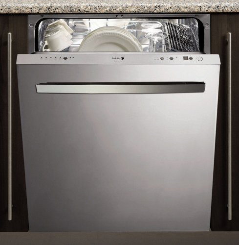 Fagor LFA086XL 24-Inch Tall Tub Dishwasher with 10 Wash Cycles, Fully Integrated with Stainless Steel Door