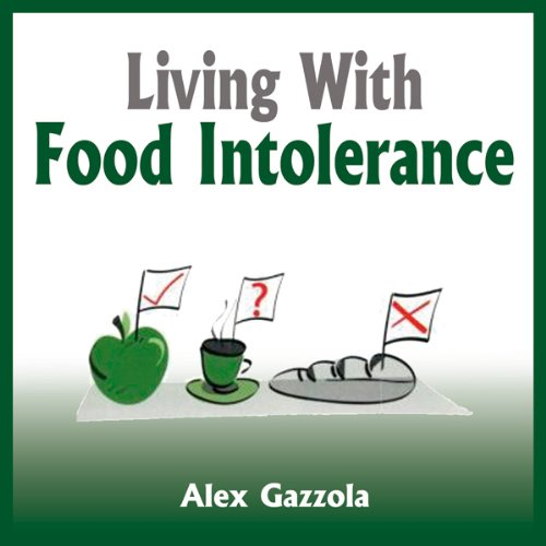 Living with Food Intolerance audiobook cover art