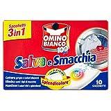 Omino Bianco - Salva e Smacchia, Azione Splendicolore -10 sacchetti