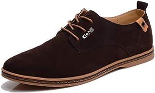 Funmoon Derby - Zapatos para hombre, color marrón