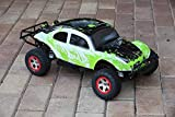 SummitLink Compatible Custom Body Muddy Green Over White/Black Replacement for 1/10 Scale RC Car or Truck (Truck not Included) SSB-WBG-02