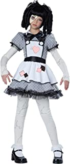 California Costumes Haunted Doll Child Costume, Medium