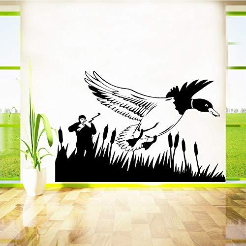 YuanMinglu Jagd Schlucken wandaufkleber entfernbare wandaufkleber Schlafzimmer tapete Wohnzimmer Dekoration wandmalerei wandbilder 30x22 cm
