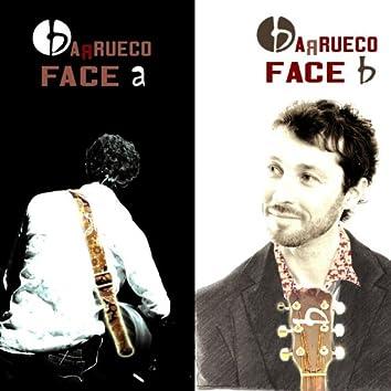 Face a face b
