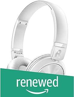 (Renewed) Philips SHB3060WT Bluetooth Headphones (White)