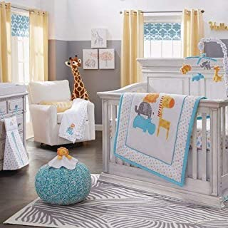 Koala Baby 4 Piece Safari Crib Bedding Set