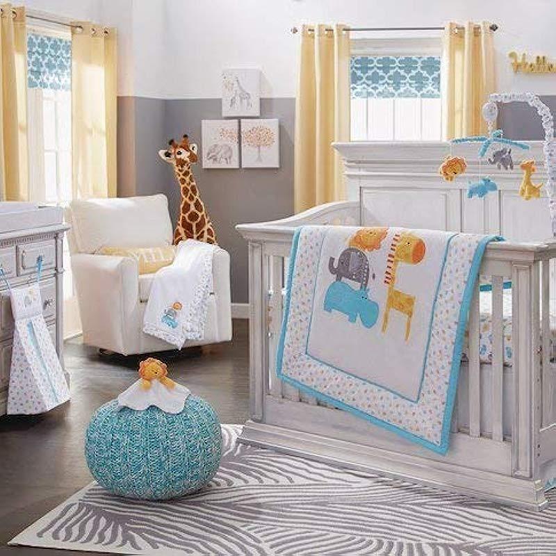Koala Baby 4 Piece Safari Crib Bedding Set