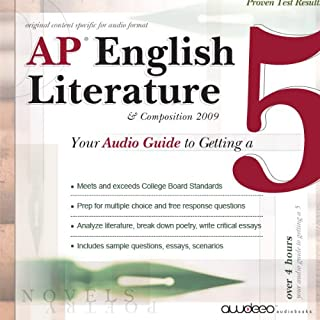AP English Literature and Composition audiobook cover art