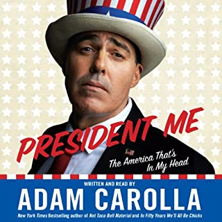 President Me audiobook cover art