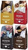 128 Capsulas Bialetti Compatibles - Degustación de Cafés Variados - Cremoso - Arabica - Intenso - Ristretto