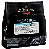 Valrhona - Les Sacs de Fève - Chocolat Noir - Caraïbe 66% - 1kg