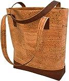 Kork-Handtasche selber nähen: Stoffset aus Korkstoff zum
