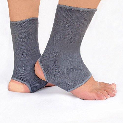 HealthAndYoga (TM) una caviglia e stabile per Snugger Fit, 1 paio, facile da infilare, senza scivolare & Clumping/recupero Speedy & il dolore alle articolazioni, muscoli