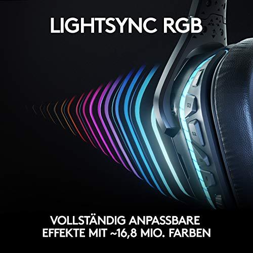 Logitech G935 Kabellose Gaming-Kopfhörer Bild 6*