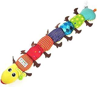N/Z Baby Cute Carton Toy Baby Soft Plush Toys Musical Caterpillar Educational Plaything Rattles Kids Kids Gift 58 cm
