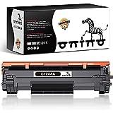 ONINO 44A Reemplazo de Cartucho de Tóner Compatible para 44A CF244A para Laserjet Pro M15a M15w MFP M28a MFP M28w Impresora (1 Negro)